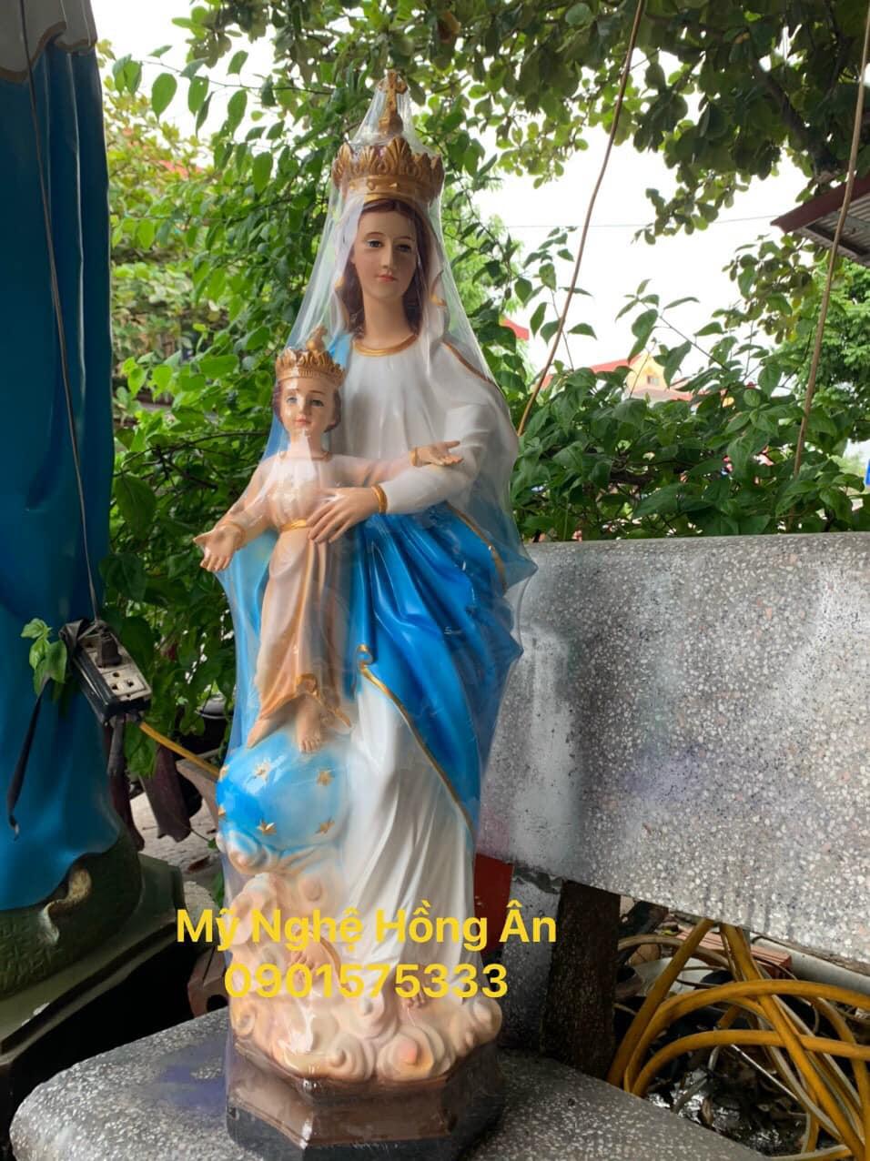 Đức Mẹ LaVang bồng Chúa Giêsu chữa nhiều bệnh cho con cái