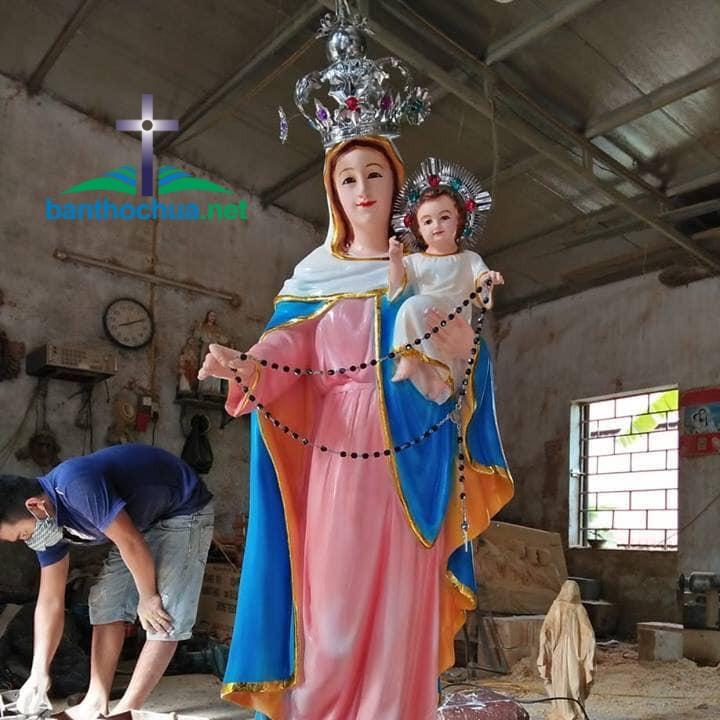 Hồng Ân địa chỉ tạc tượng Mẹ Mân Côi uy tín