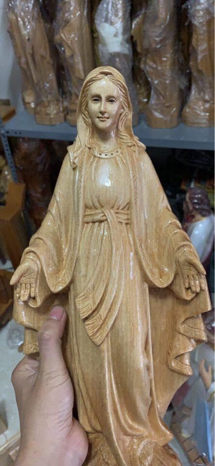Mẫu Tượng Đức Mẹ đẹp, Sắc Nét Từng Chi Tiết