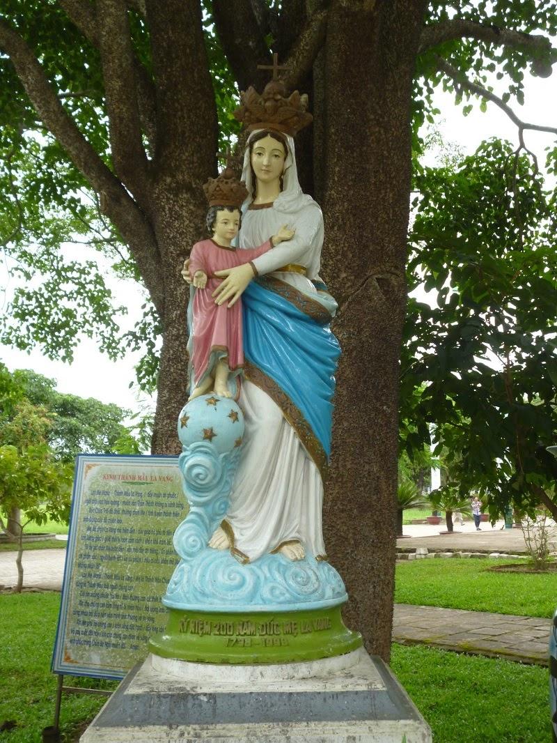 Tượng Mẹ La Vang mang nhiều ý nghĩa trong Công giáo